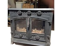 LOG BURNING/MULTI FUEL STOVE very ornate