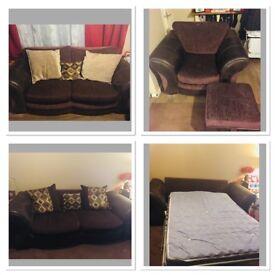 4 piece sofa bed suite
