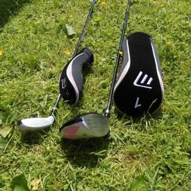 NEW MASTERS MCZ 140 DRIVER AND 4/5 HYBRID RIGHT HANDED.