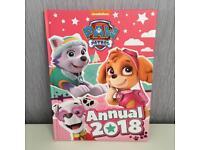 Brand new paw patrol 2018 annual
