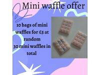 30 mini waffle wax melts