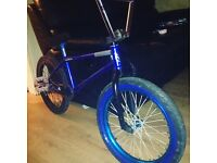 Custom bmx on Dan Lacey frame only recently been built up an hardly been rode