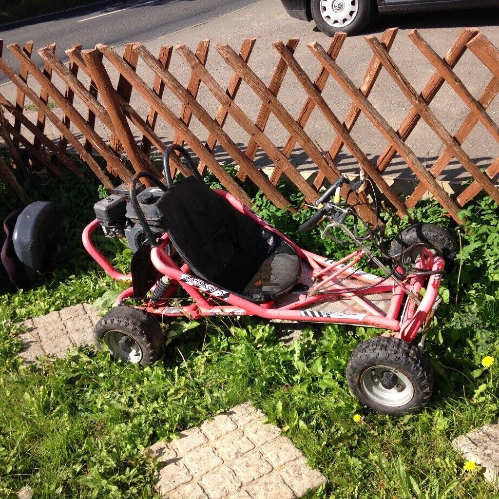 Petrol gokart no runner due to sitting outside all year my son Has out grow it £100 ono