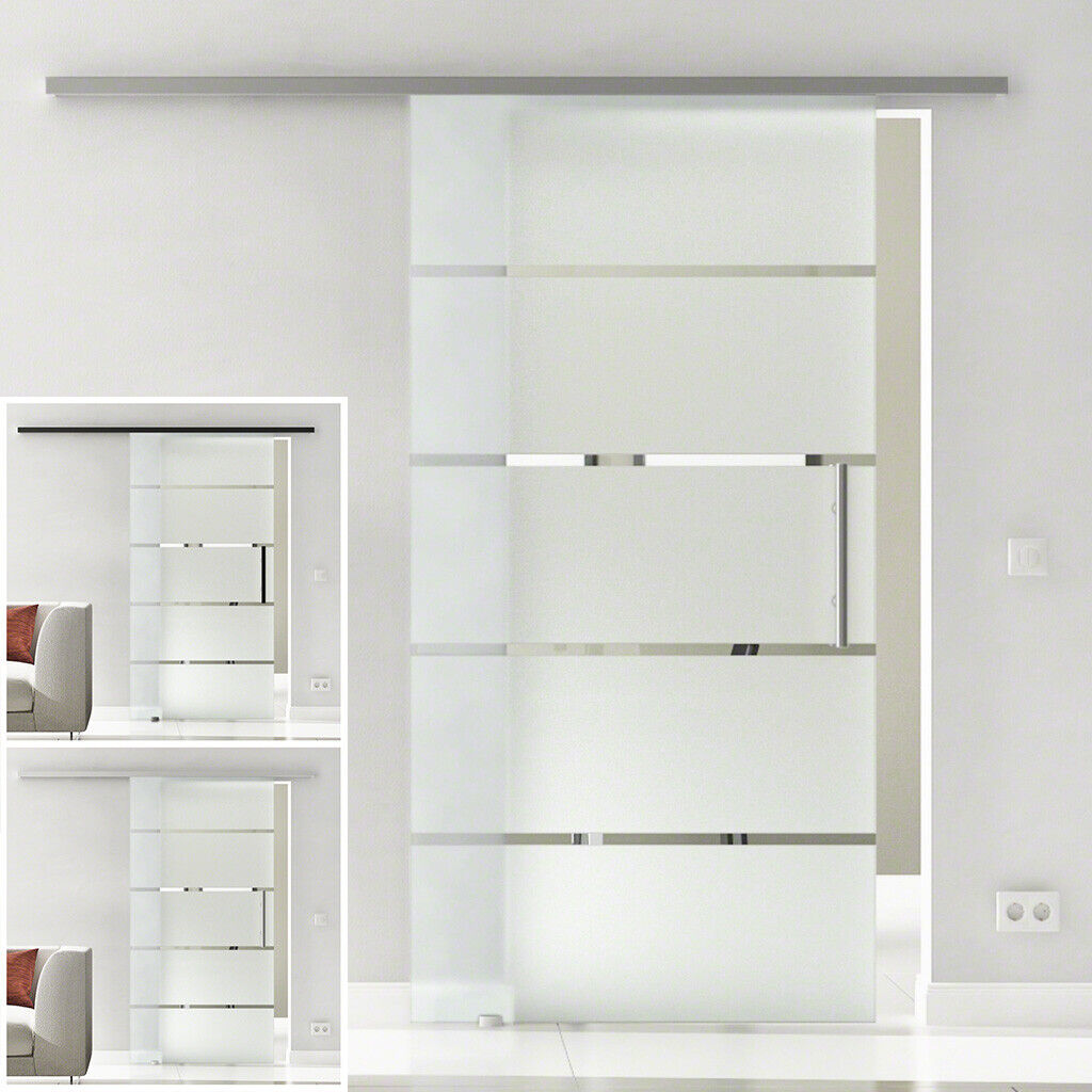 Levidor Slimline Glasschiebetür Design Berlin SoftClose (opt.) EX1SXX