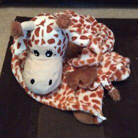 Kids Giraffe Blanket
