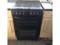 Belling Enfield black gas cooker 55cm wide **reduced**