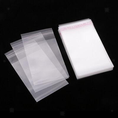 "200 Clear Poly Ziplock Reclosable Zipper Bags 2.4 Mil/_6.3/"" x 9.4/""/_160 x 240mm"
