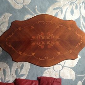 Decorative wooden used display/ coffee table