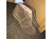 Size 7 Brown Suede Ankle Boots