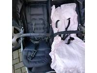 Red kite double buggy