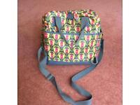 Momymoo 'Poppies' Change bag (some wear and tear)