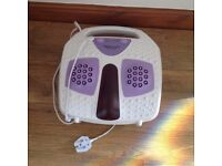 Electrical WBM infered high intensity foot and back massager with reflexology massage feature