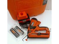 PASLODE IM65A (ANGLED) SECOND FIX NAIL GUN +CASE+ACCESSORIES+12 MONTHS WARRANTY