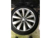 """Vw Passat 17"""" alloy wheels"""
