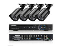cctv camera system ahd dvr 4 channel with 500gb ahd 4 ahd cameras 2mp phone app free xmeye