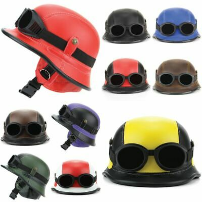 Novelty Helmet with Goggles Festival Fancy Dress Party Costume Hard Hat - Novelty Goggles