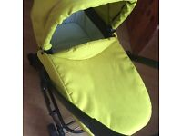 Graco evo lime green pushchair an other baby stuff