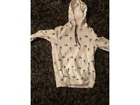 Small north face hoodie