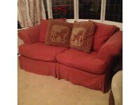 Sofa Bed, double, faded fabric but excellent bed £50