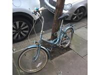 Hercules folding bike for sale - great working condition