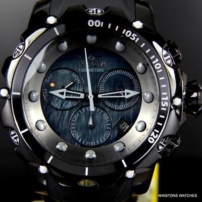 Ocean Chrono Watch (Invicta Venom Sea Dragon Gen II Black MOP Combat Swiss Mvt Chrono 52mm Watch)