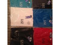 EA7 emporio Armani Tshirts sizes M L XL various colous