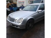 2004 Mecedes Benz CDI E class, semi-automatic, Saloon- Good Coniditon