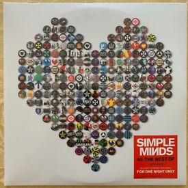 Simple Minds - 4:- The Best Of 1979-2019 2LP