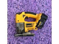 Bargain 18 Volt Dewalt Jigsaw With Battery & Charger !!!