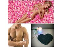 Body waxing, including male and female intimate hair removal.