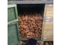 Seasoned and unseasoned firewood for sale