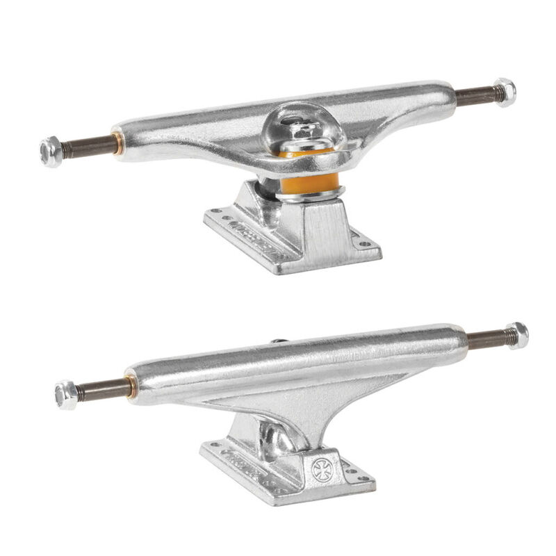 """Independent Skateboard Trucks Stage 11 Standard Silver Raw 169 (9.12"""") Pair of 2"""