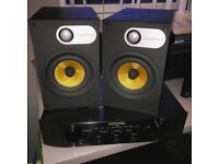 Bowers & Wilkins speakers and Marantz amp combo! Gaming or home cinema or studio setup!!