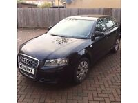 Audi A3,2006 special Edition, 1.6 L Petrol, 84k miles, , MOT July 2017, electric windows, alloys