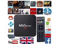 2018 MXQ PRO 4K TV BOX ANDROID 7.1 QUAD CORE KODI 18 SMART MEDIA PLAYER 1GB+8GB