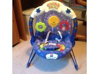 Fisher Price Kick & Play baby bouncy chair