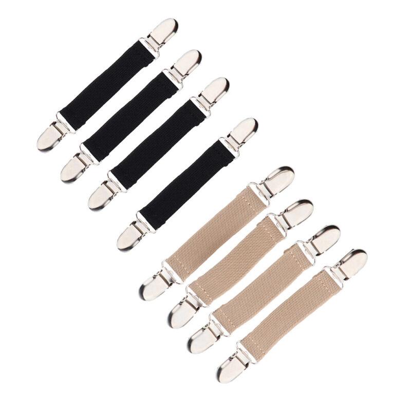 4Pcs Children Stretchy Stainless Steel Glove Mitten Clip Clasp Grip Non-slip