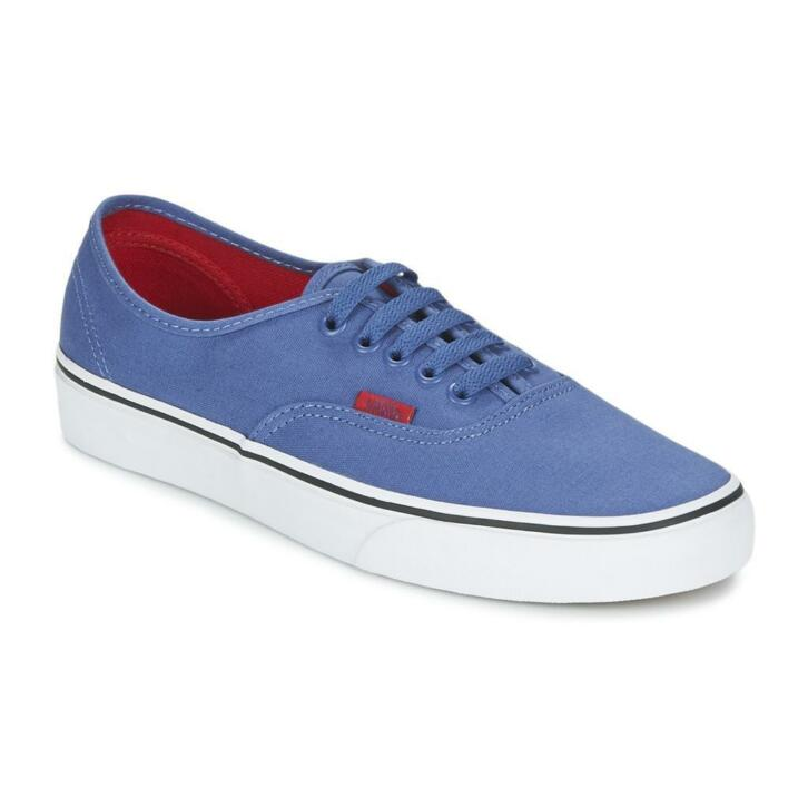 vans authentic blauw