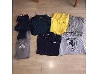 Men's designer clothes bundle