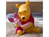 Winnie The Pooh 3D Safety Lamp Light