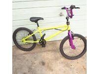 ( E) Green B M X Stunt /Free-style Bike Unisex
