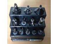 Router bit set 12 pieces