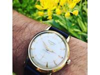 Vintage 10k 10ct gold Longines Automatic men's Swiss watch (9ct 9k)