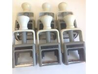 Set of six self inking stamps