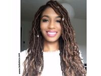 Best Goddess Locs in London! Deluxe goddess loc hair extensions in North London