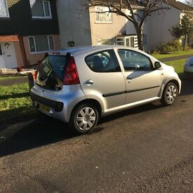 peugeot 107 with 48000 miles location taunton somerset