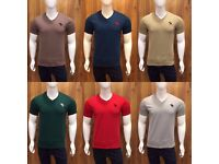 A&F Abercrombie & Fitch Men's V Neck Plain Tshirt for Wholesale Only