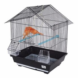 Variety of Bird Cages for sale | Bird Cages | Parrots, Budgies, Finches, Cockatiels | Black & White