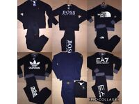 ( OSCARS ) NEW STYLES AVAILABLE FOR WHOLESALE TRACKSUITS T SHIRTS JUMPERS
