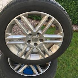 Vauxhall Sri 5 stud alloy wheels
